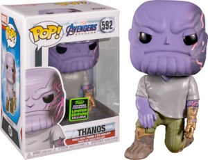 Avengers 4: Endgame - Thanos with Magnetic Arm ECCC Exclusive Pop! #592 - NEW