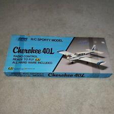 EZ RPM Cherokee 40L Rc Airplane Arf!