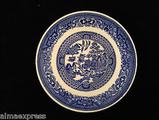 Blue Willow Ware by Royal China Underglaze E52 - COFFEE / TEA CUP SAUCER