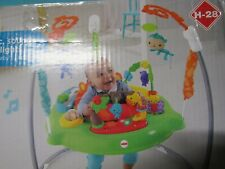 fisher Price Roarin Rainforest Jumperoo Music Sound Lights Cbv63-999B