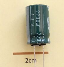 Samsung SSL Radial Electrolytic Capacitor 2200µF 10V 85°C (Pk of 2)