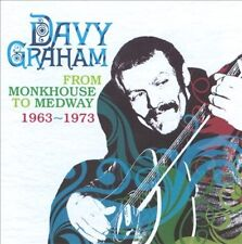 DAVY GRAHAM - FROM MONKHOUSE TO MEDWAY 1963-1973 NEW CD