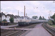 Diaduplikat DB 218 332 Lüneburg 6.6.1988