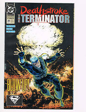 DEATHSTROKE, THE TERMINATOR, NUCLEAR WINTER PART 4, # 20, MARCH 1993