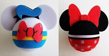 Disney - Donald Duck Body & Minnie Mouse Body Antenna Toppers Lot of 2
