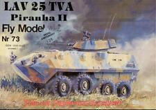 FLY MODEL 73-Light Attack Vehicle LAV 25 Piranha II - 1:25