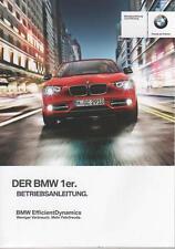 BMW 1er F20 F 21 Betriebsanleitung 2012 Bedienungsanleitung Bordbuch Handbuch BA