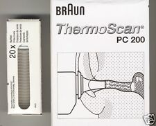 100 Schutzkappen BRAUN THERMOSCAN Ohrthermo. original