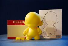 Munnyworld Mini Munny Multicolor Kidrobot Yellow Phone
