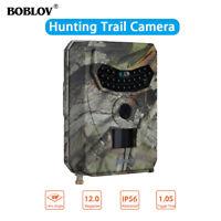 PR-100 12MP 1080P HD Hunting Trail Game Farm Camera Night Vision 26PCS IR LED's