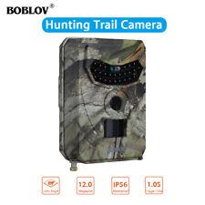 PR-100 12MP 1080P HD Hunting Trail Camera Night Vision IR LED 120° Wide Angle