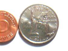 state quarter dollar 2001 D New York.