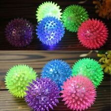 Play Squeaky Rubber Fun Dog Puppy LED Light Pet Ball Toys