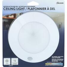 WESTEK Ceiling Light MOTION ACTIVATED SECURITY LIGHT