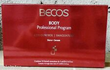 BECOS BODY CELL CONTROL SMAGLIATURE SIERO 10 fiale da 5ml.