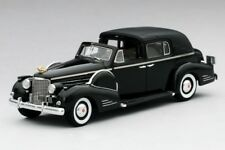 1938 Cadillac Series 90 V16 Town Car in Black in 1:43 Scale by TSM