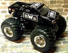 NWO CUSTOM BUILT HOT WHEELS MONSTER JAM TRUCK 1/64 WWE WWF
