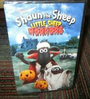 SHAUN THE SHEEP: LITTLE SHEEP OF HORRORS ANIMATED DVD, 6 SPOOKY STORIES, NEW
