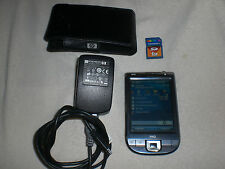HP IPAQ CLASSIC 110 WINDOWS MOBILE 6, 5.2 POCKET PC PDA WIFI Charger & Much More