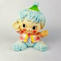 Vintage RELPO Rag Doll Baby Planter no. 6339 Japan Nursery Decor