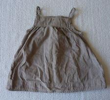 Robe bébé fille gris vêtement taille 6 Mois