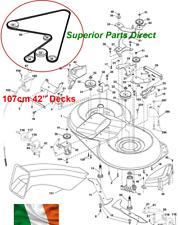 "GT43HR /& GT43HR TWIN Mower Deck Belt For 43/"" Atco GTL43HR 108cm Decks"