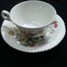 "Copeland Spode Great Britain Romney -- 3 3/4"" Tea Cup & 6"" Saucer"
