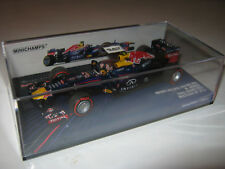 1:43 RED BULL Racing RB9 M. Webber 2013 Brazil GP 410130102 MINICHAMPS Neu OVP