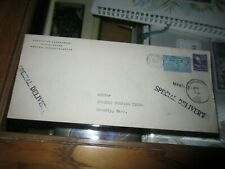 1946 special delivery envelope from State House Boston Mass.