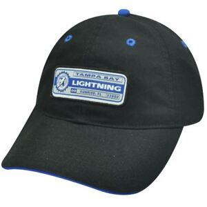 NHL Tampa Bay Lightning Garment Washed Country Time Black Hat Cap