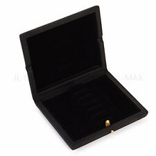 Black PU Leather Oboe Reed Case For 6PCS Reeds Hold