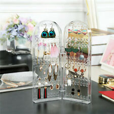 Earring Hanging Rack Jewelry Organizer Holder Acrylic Display Stand W/ 240 Holes