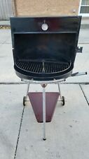 Wards Mid Century Bbq Grill Amc Aimcee Brazier Warming Oven Hood 24 Vintage