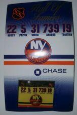 New York Islanders SGA Hall of Fame Pin - Arbour, Bossy, Smith, Potvin, Trottier