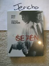 Seven Se7en (Blu-ray SteelBook)(Amazon Exclusive)[Japan] Oos/Oop Rare