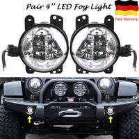 """4"""" CREE LED Nebelscheinwerfer Frontscheinwerfer Fog Lights für Jeep Wrangler 30W"""