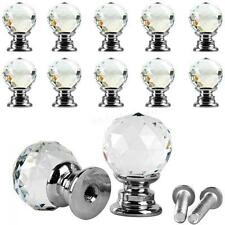 Crystal Round Pull & Handle Drawer Cupboard Knob