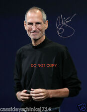 "Steve Jobs 8x10"" reprint signed photo #3 RP Apple Inc Founder Pixar Studios"