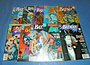 Lot of 50 Batman/Detective DC Comic  Books  L52