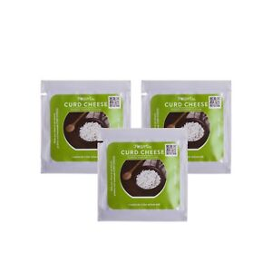 Curd Cheese, Farmer Cheese /Tvorog/ Starter Culture - pack of 3 sachets