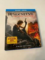 Resident Evil: The Final Chapter w/ Slipcover (Bluray, 2016) [BUY 2 GET 1]