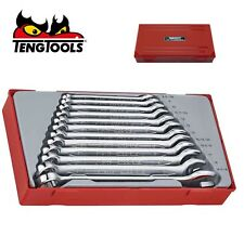 Teng TENTT1236 TT1236 12 Piece Metric Combination Spanner Set Tool Set