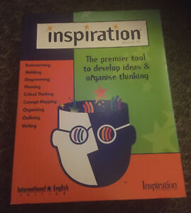 Inspiration Version 7.6 PC CD Rom Design Software - Professionals & Students