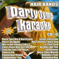 KARAOKE - PARTY TYME KARAOKE - HAIR BANDS NEW CD
