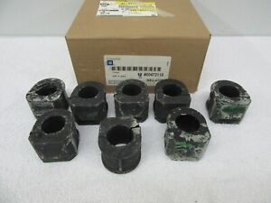 NOS 1973-2000 GM Front Suspension Stabilizer Bushings (8) GM 472118 (30.5mm) dp