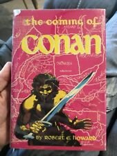 The Coming of Conan by Robert E. Howard 1952 1st Edition Kelly Freas Cover