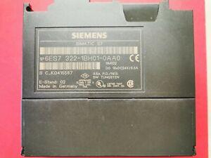 Siemens Simatic S7 6ES7 322-1BH01-0AA0 Digital Ausgangsmodul 16fach SPS