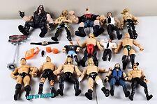 WWE Jakks Classic Superstars Ruthless Wrestlin Figure Lot W/ Accessories Playset
