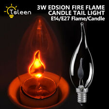 e27/e14 3w Candle c35 dynamic flame effect led bulb flickering fire Lights lamp