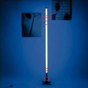 Seletti Fluobar 2.0 Tube Neon Lamp Light Blue